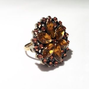 Sunburst Cocktail Ring